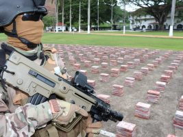 Panamá incautó un cargamento de droga valorado en USD 90 millones en un contenedor procedente de Cuba