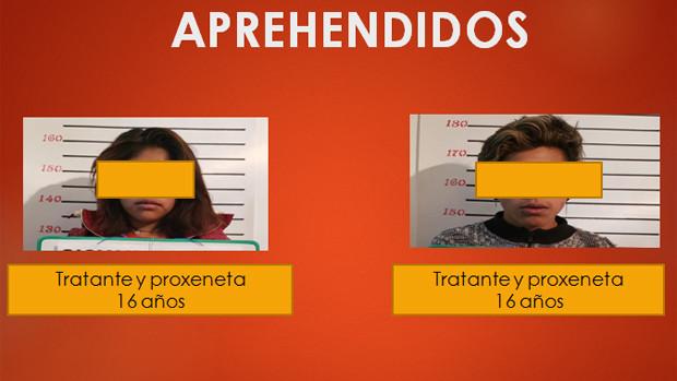Caen dos jóvenes de 16 años por prostituir adolescentes