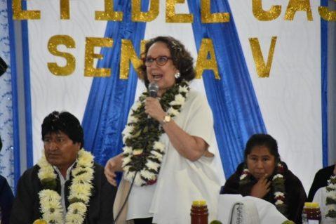 Secretaria Iberoamericana: Bolivia es muy querida en la comunidad iberoamericana y ejemplo para todos los pueblos