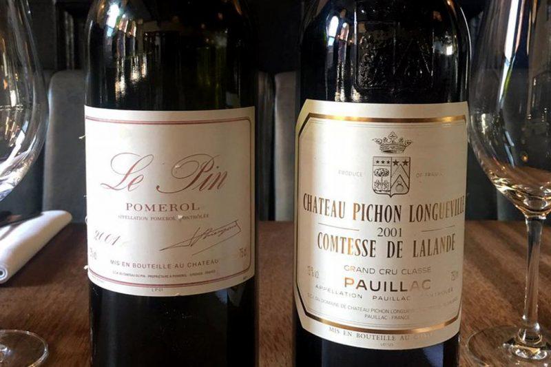 Un afortunado comensal recibió una botella de vino de USD 6000 por error
