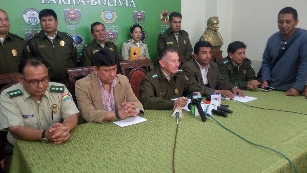Policía de Tarija desvirtúa denuncia sobre supuestos hechos de corrupción en los uniformados