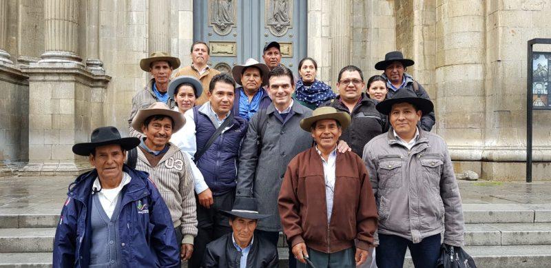 Paz reúne a autoridades nacionales y regionales para tratar sobre proyectos en el área rural de Tarija