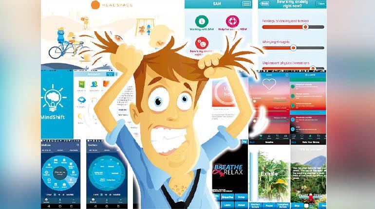 Apps que lidian contra el estrés y la ansiedad