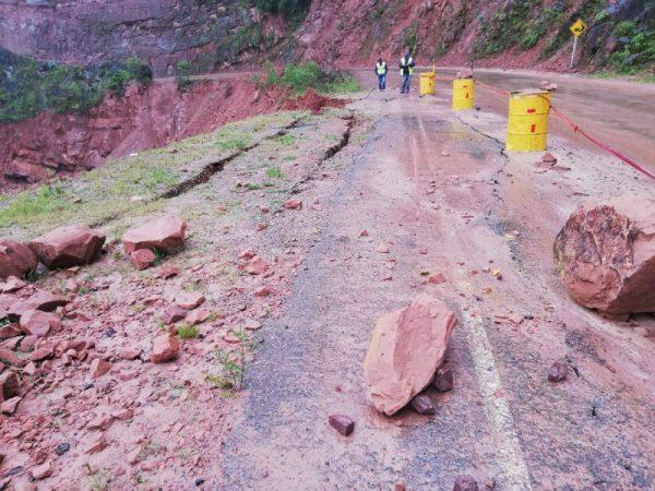 Transporte de Tarija espera que trabajo en el tramo Canaletas - Entre Ríos culmine antes de la época de lluvia