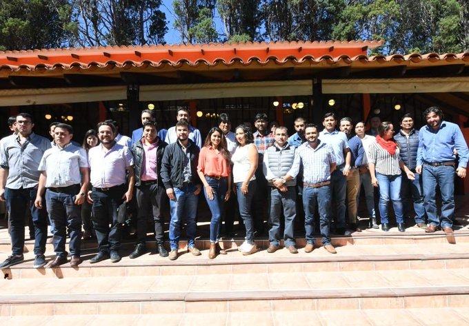 Evo se reúne con jóvenes empresarios tarijeños y acuerda trabajar de manera coordinada por el desarrollo