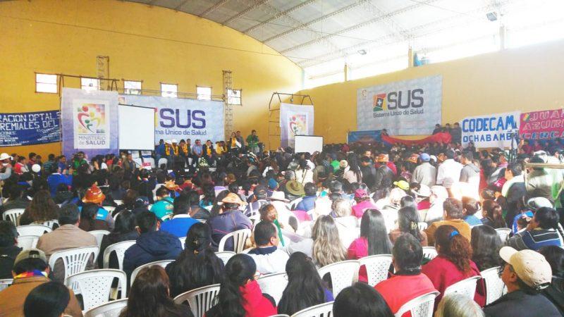 Tarija es el escenario de la evaluación nacional del SUS, con la presencia de Evo
