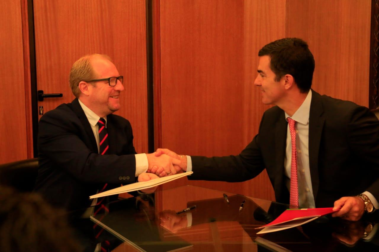 Gobernador Oliva firma convenio de cooperación energética con el Gobierno de Salta