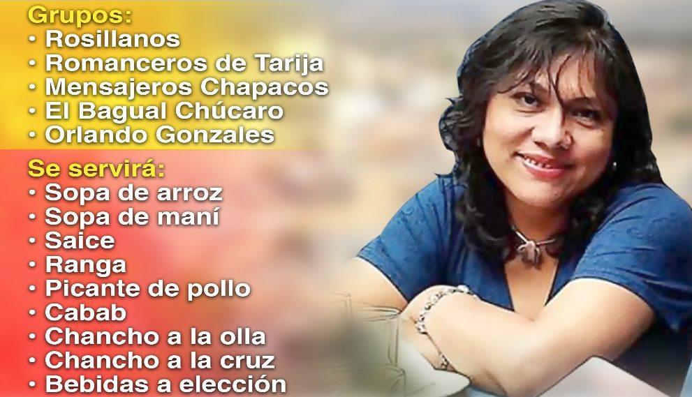 Invitan a kermesse solidaria por la periodista Irina Quiroga