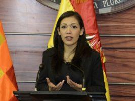 Senadora del MAS