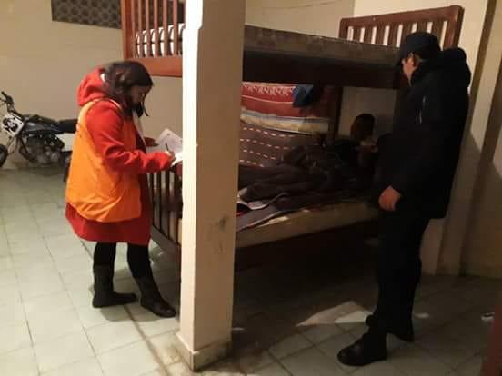 Albergues transitorios que brindan el calor humano a personas que lo necesitan en Tarija