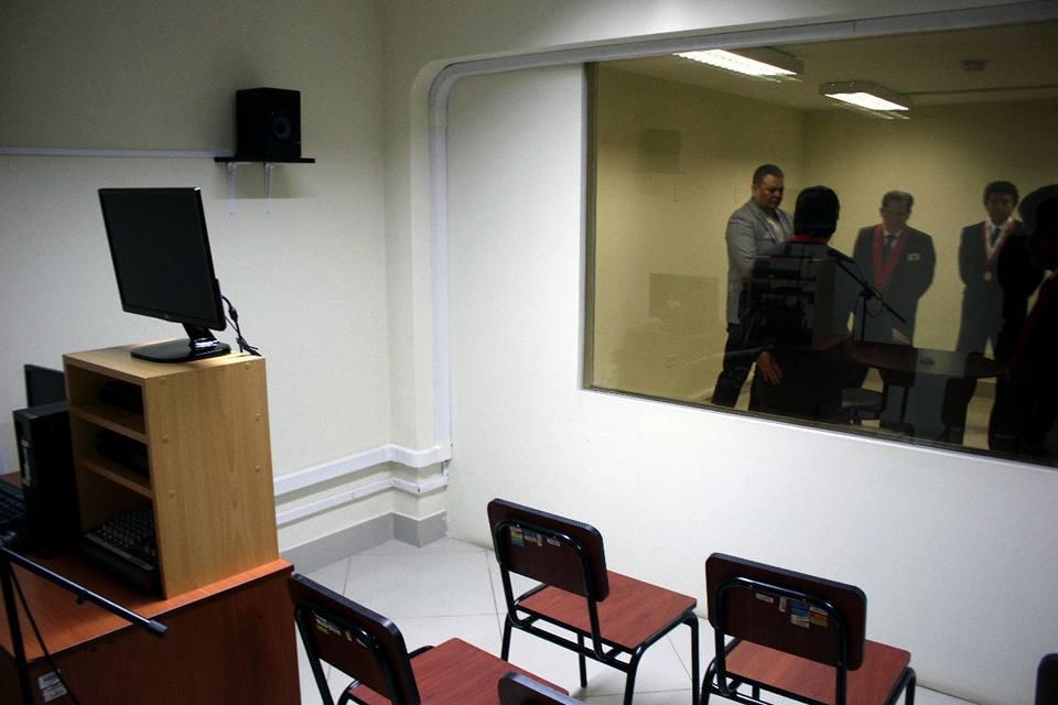 Tribunal Departamental de Justicia de Tarija cuenta son su propia cámara Gesell