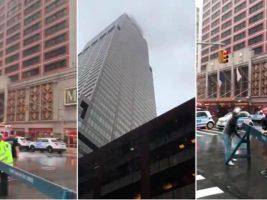Un helicóptero se estrelló en la terraza de un rascacielos en Nueva York