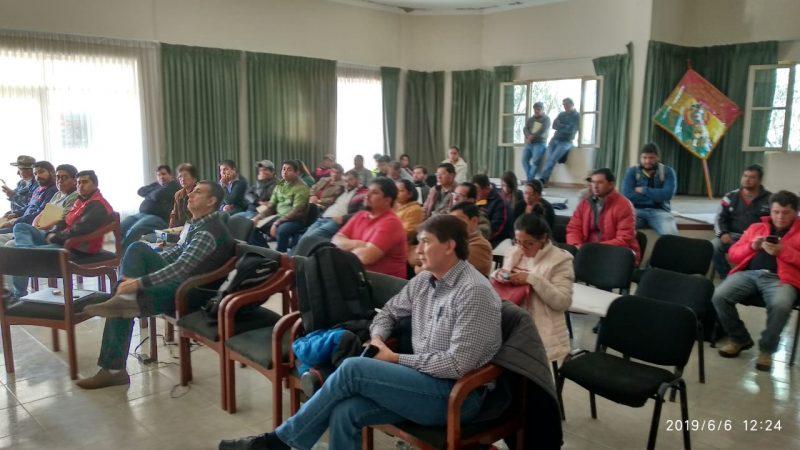 Concluye taller de Protección de Fuentes de Agua del Valle Tarijeño