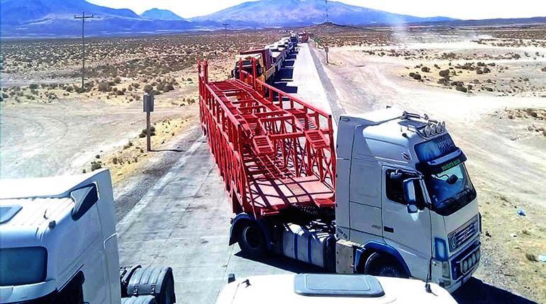 Aduana aplica medidas de urgencia para agilizar el flujo de camiones