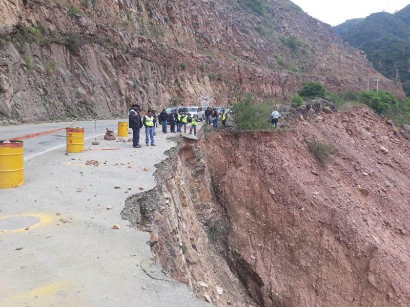Gobernación de Tarija cerrará variante Canaletas - Entre Ríos por 4 meses