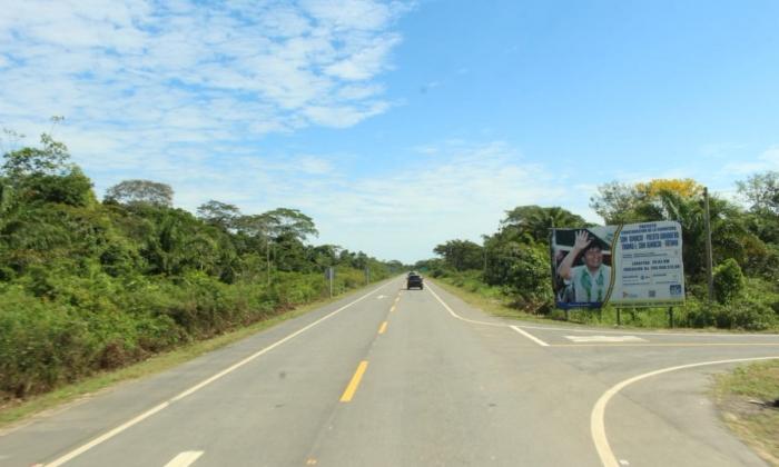 Morales inaugura carretera Trinidad-San Ignacio de Moxos en Beni