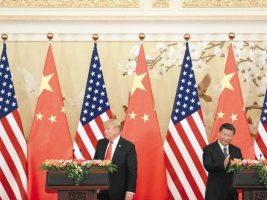 Presidentes EEUU y China