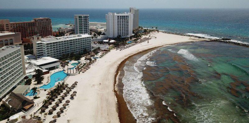 El desastre del sargazo en Cancún y la Riviera Maya no se limita al mar y la arena: