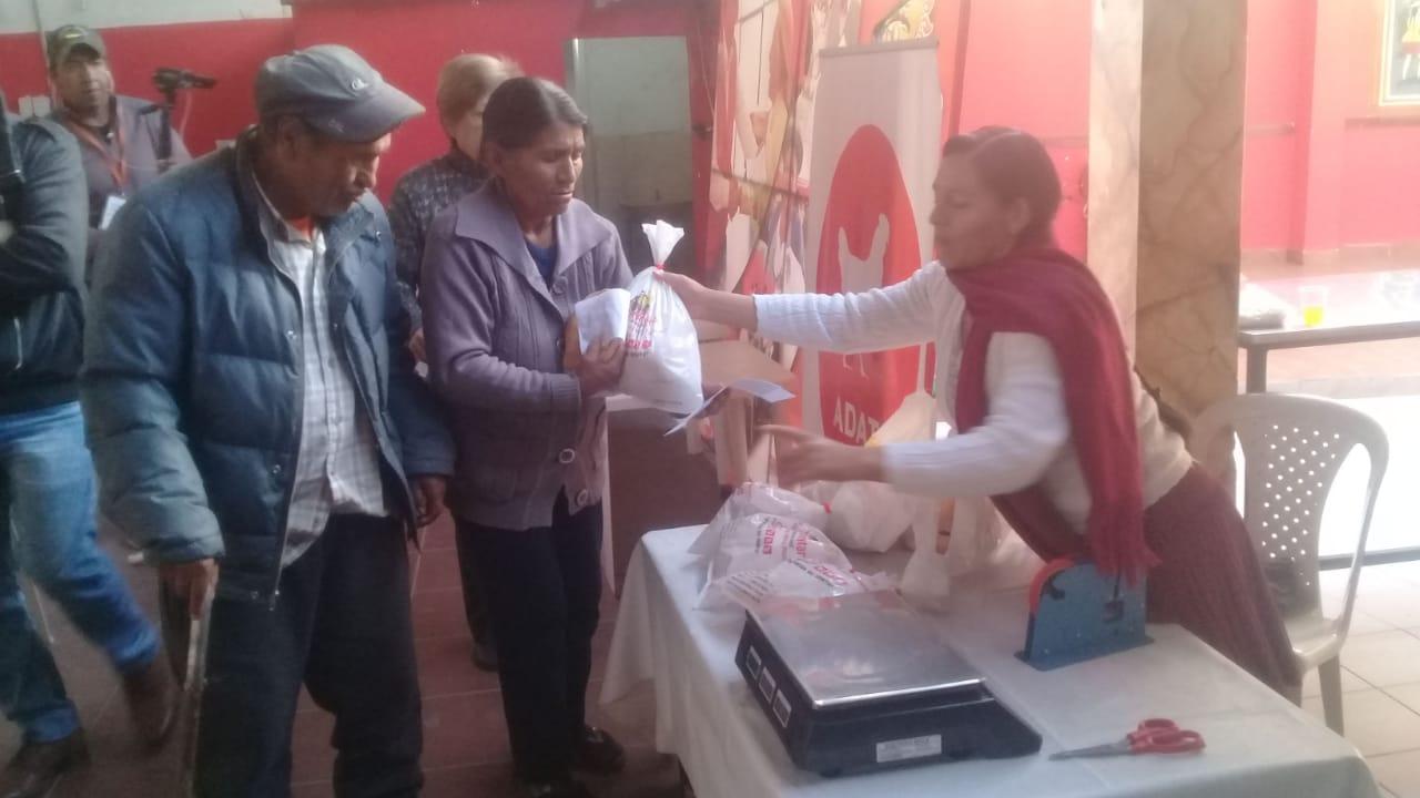 Inician con la entrega de la canasta alimentaria correspondiente a la gestión 2019 en Tarija