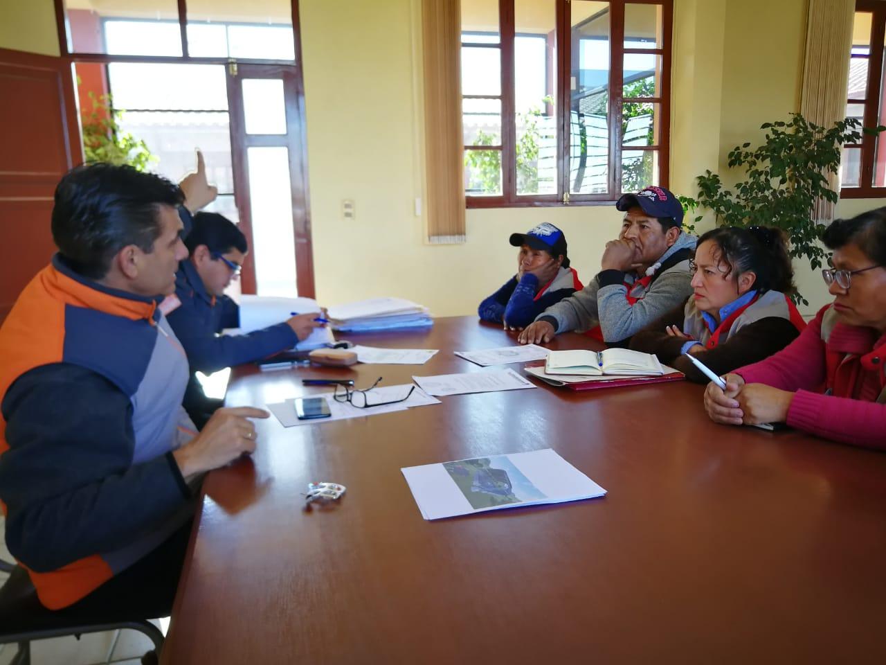 Alcaldía de Tarija trabaja en el diseño de un área deportiva para el barrio Defensores del Chaco
