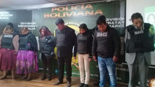 La Paz: Envían a la cárcel a 14 sindicados por dopar y robar a sus víctimas