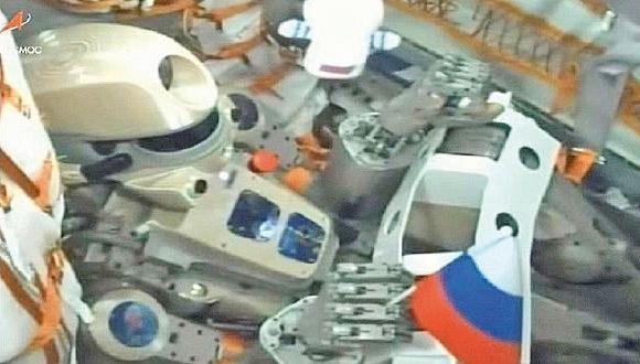 La nave con el robot humanoide ruso Fedor se acopló con éxito a la Estación Espacial Internacional