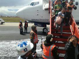 Incidente de avión BOA sería por daño en una válvula de amortiguación