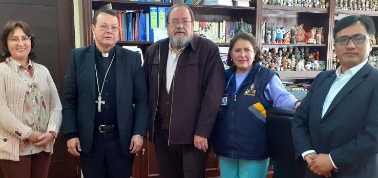 Iglesia Católica y Ministerio de Educación reafirman convenio de cooperación