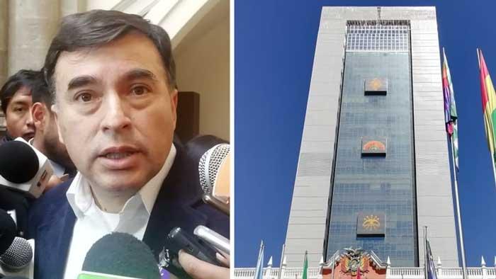 """Ministro Quintana considera """"política barata"""" cuestionar el costo de una silla de la Casa del Pueblo"""
