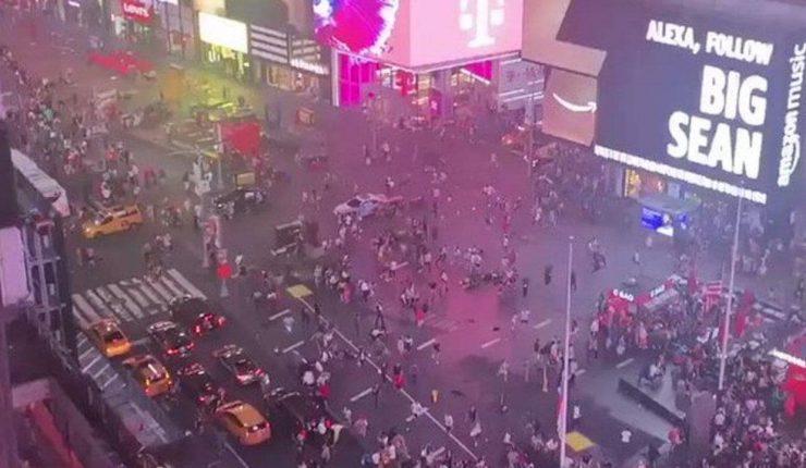Turistas y neoyorquinos huyeron en estampida por falsa alarma de tiroteo