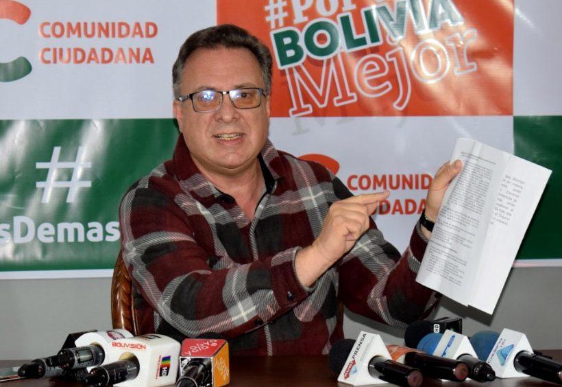"""CC de Mesa se declara en emergencia por """"atentado judicial"""" a su gerenta de campaña"""