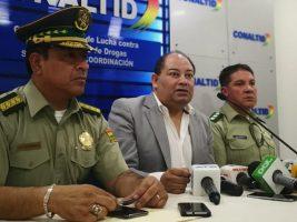 Ministro Gobierno y comandante de Policía