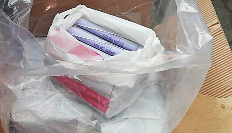 Policía secuestra más de 2 mil cartuchos de dinamita transportados de forma ilegal