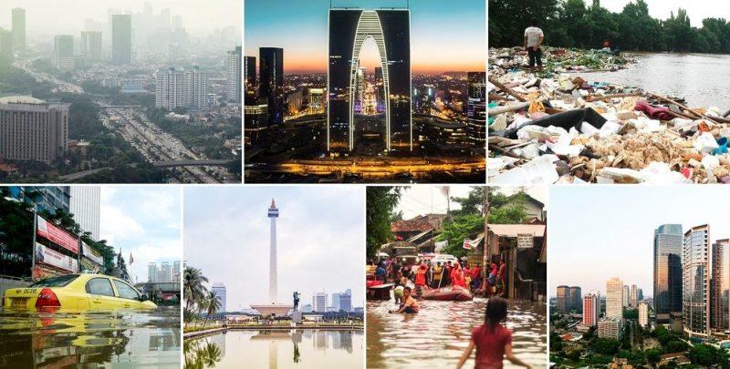 Cambio climático y colapso: por qué Indonesia decidió mudar su capital y construir una desde cero