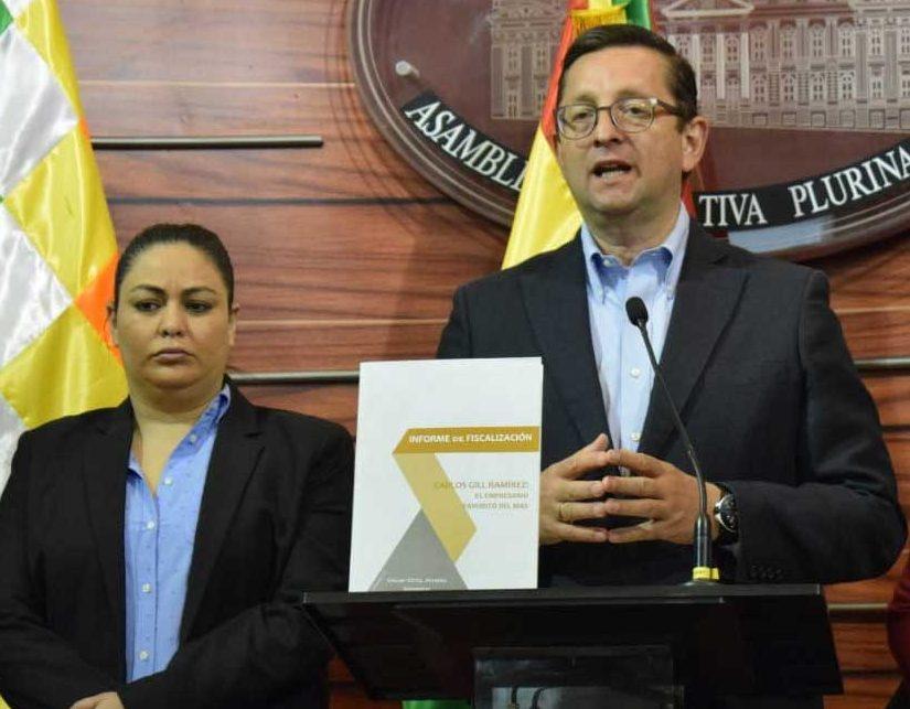 """Ortiz denuncia negocios y vínculos del """"empresario favorito del MAS"""""""