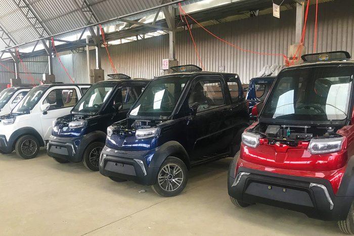 Quantum Motors fabrica el primer auto eléctrico 'made in Bolivia'