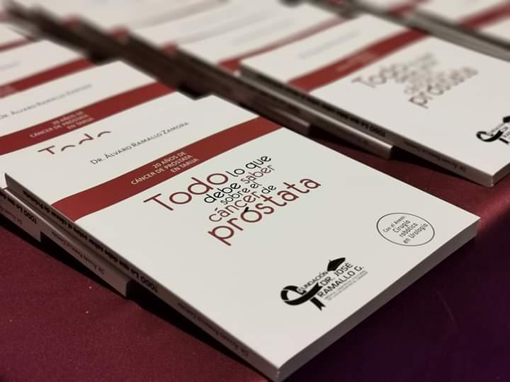 Álvaro Ramallo presenta libro sobre una exhaustiva investigación del cáncer de próstata en Tarija