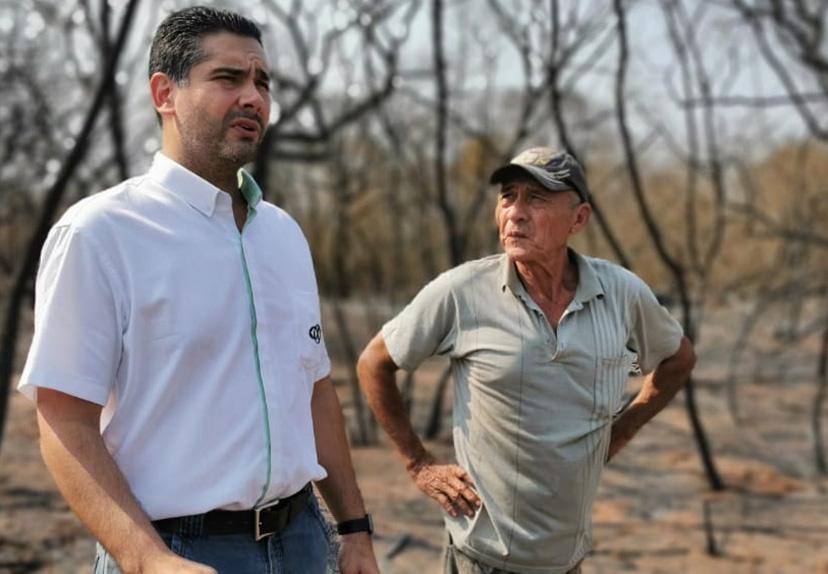 Valverde dice que la CAO oculta los 'chantajes' del INRA por tierras