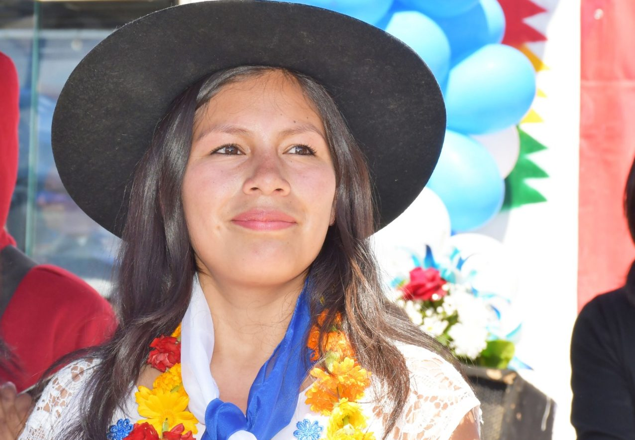 Viviana Aparicio una joven líder que busca cambios en Tarija desde la perceptiva de género y juventud