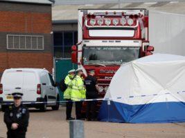 Hallaron 39 cadáveres a bordo de un camión en el Reino Unido