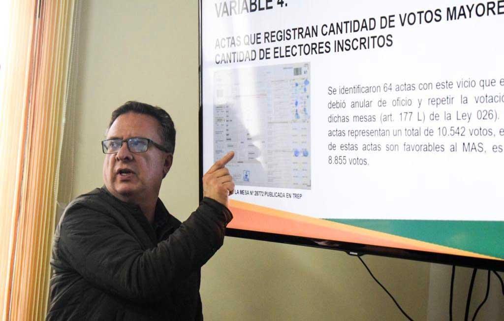 Comunidad Ciudadana cuestiona 109 mil votos por presunto fraude