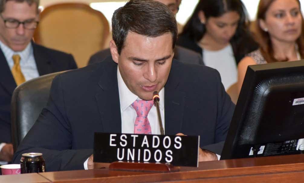 """EEUU acusa en la OEA al Gobierno boliviano de """"robar"""" la elección y """"cocinar"""" resultados"""