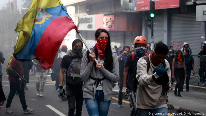 La ONU y la Iglesia católica se ofrecieron para mediar en la crisis social en Ecuador