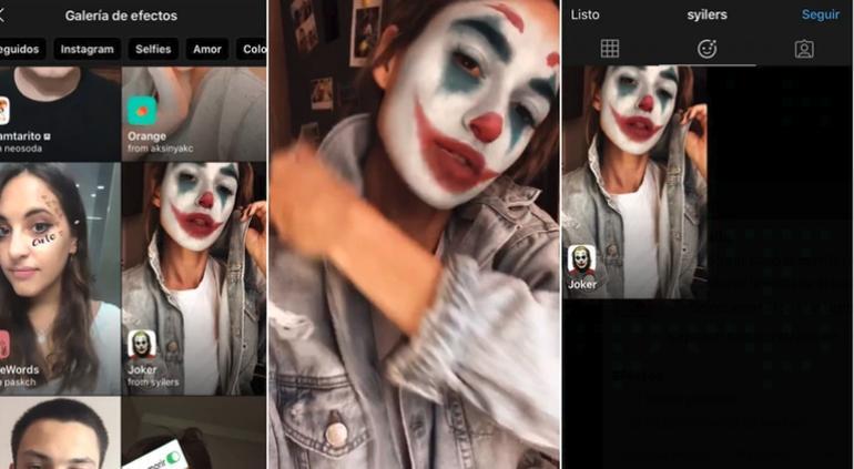 """Instagram: así puedes usar el filtro de """"Joker"""" en tus historias"""