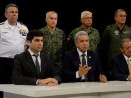 Lenín Moreno, denunció un intento de golpe de Estado en su contra organizado por Rafael Correa y Nicolás Maduro
