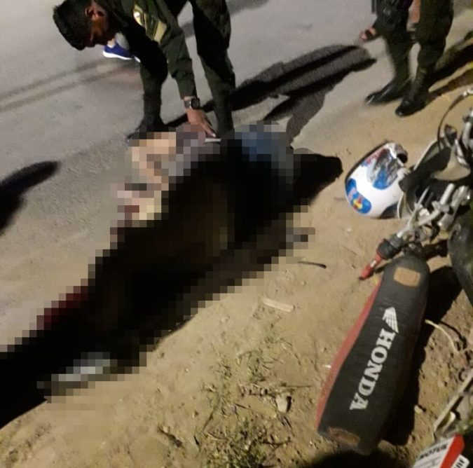 Motociclista fallece luego de chocar con un poste de luz en Tarija
