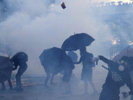 Protestas en el Día Nacional de la República Popular China