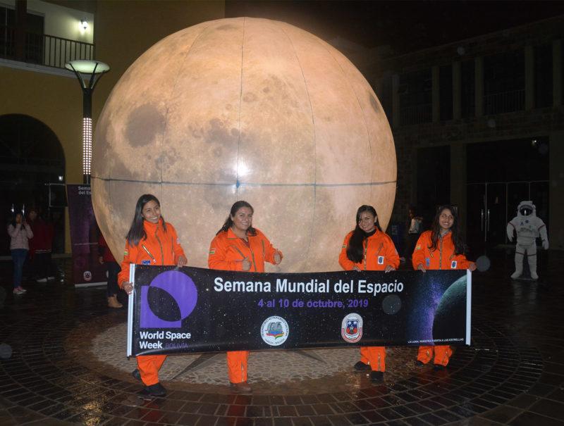 Observatorio de Tarija califica de exitosa la Noche Internacional de Observación de la Luna