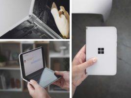Microsoft presentó su smartphone plegable