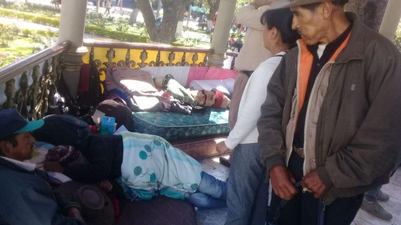 Campesinos de Tarija piden a las autoridades escuchar sus demandas, tras 8 días de huelga